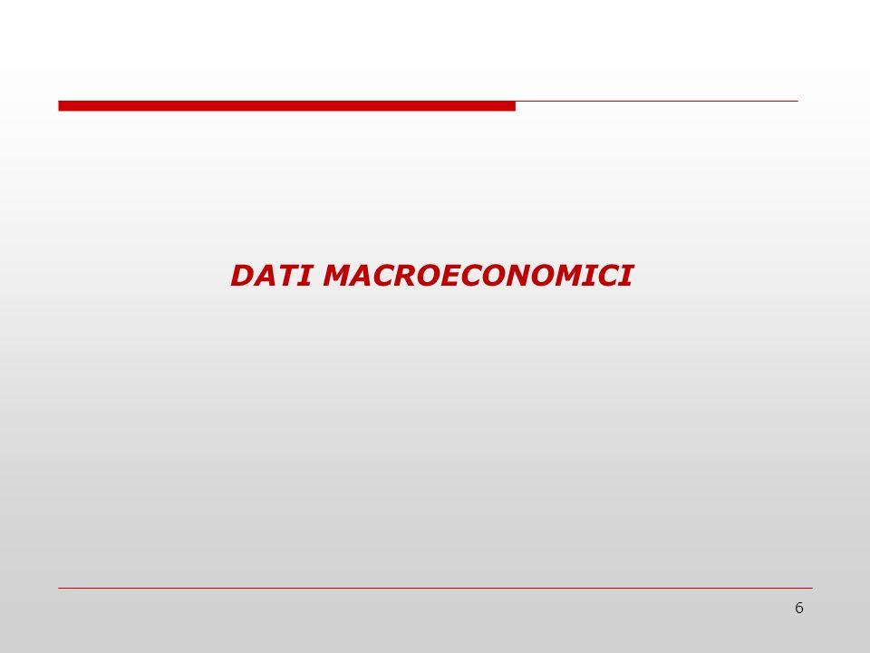 6 DATI MACROECONOMICI