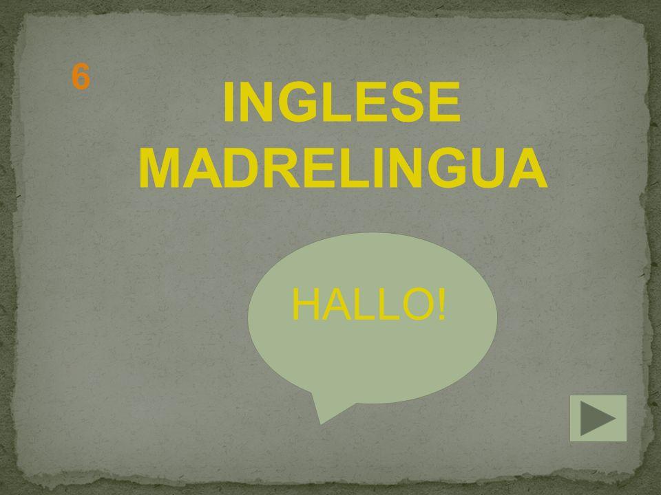 INGLESE MADRELINGUA HALLO! 6