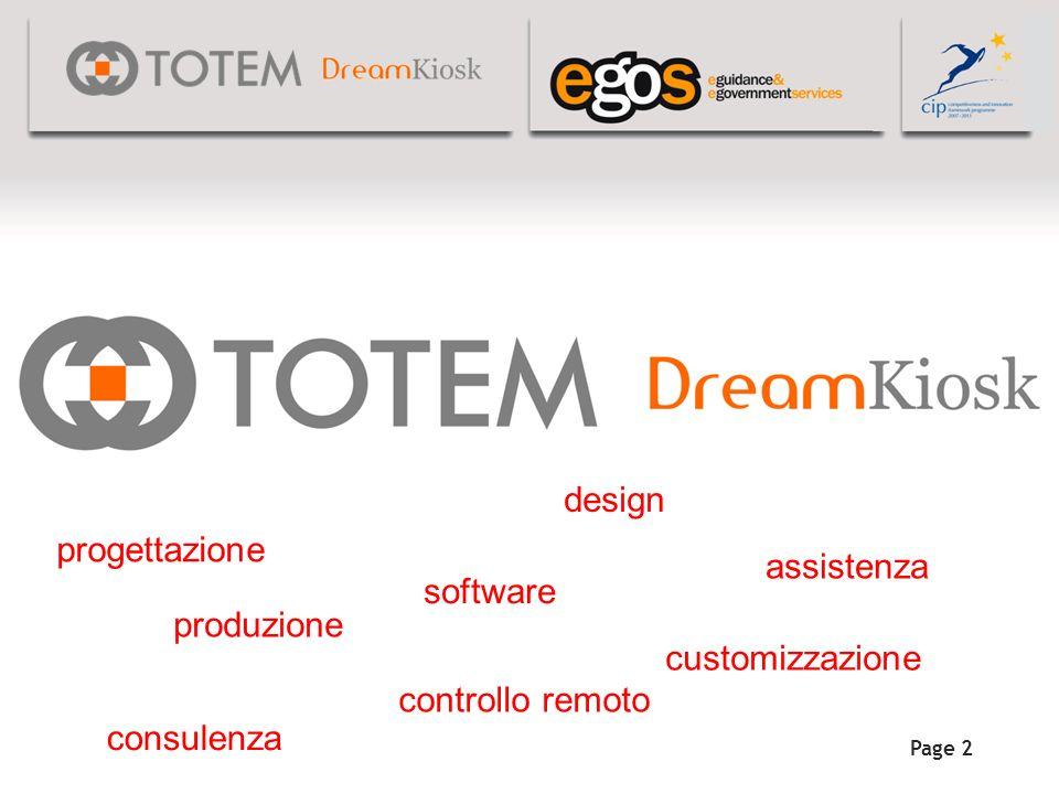 Page 2 progettazione design produzione software assistenza controllo remoto customizzazione consulenza