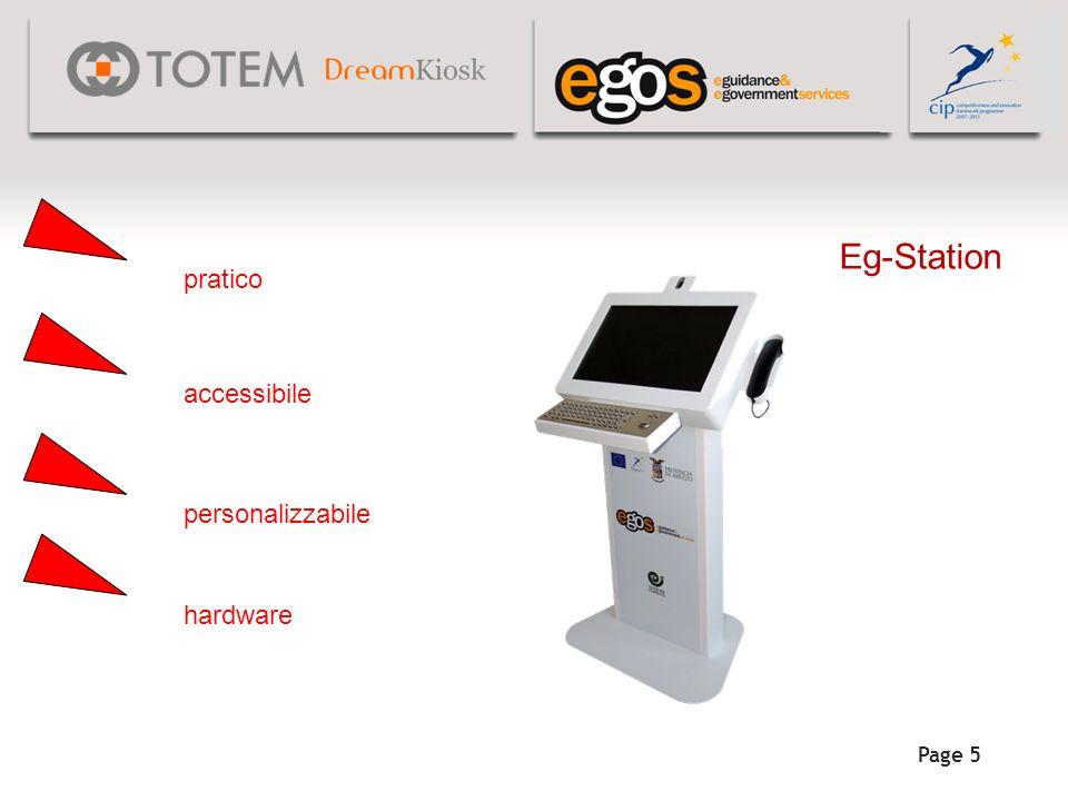 Page 5 Eg-Station pratico accessibile personalizzabile hardware