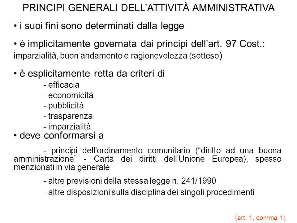 ACCESSIBILITÀ in linea di principio possibile per tutti i documenti esclusa per quelli indicati nei commi 1,2,3,5,6 dellart.