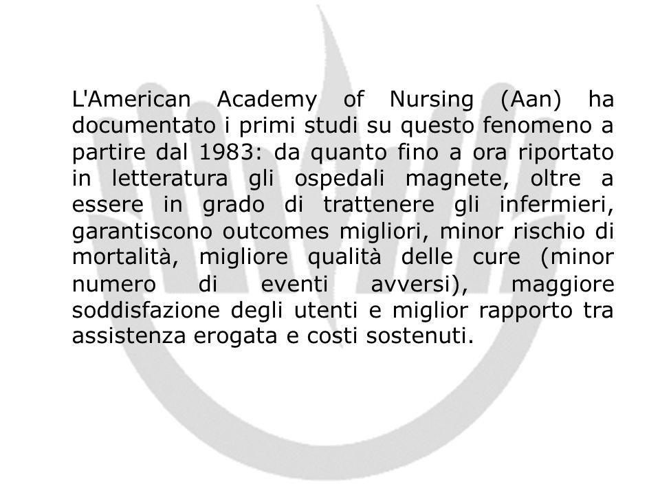 L'American Academy of Nursing (Aan) ha documentato i primi studi su questo fenomeno a partire dal 1983: da quanto fino a ora riportato in letteratura