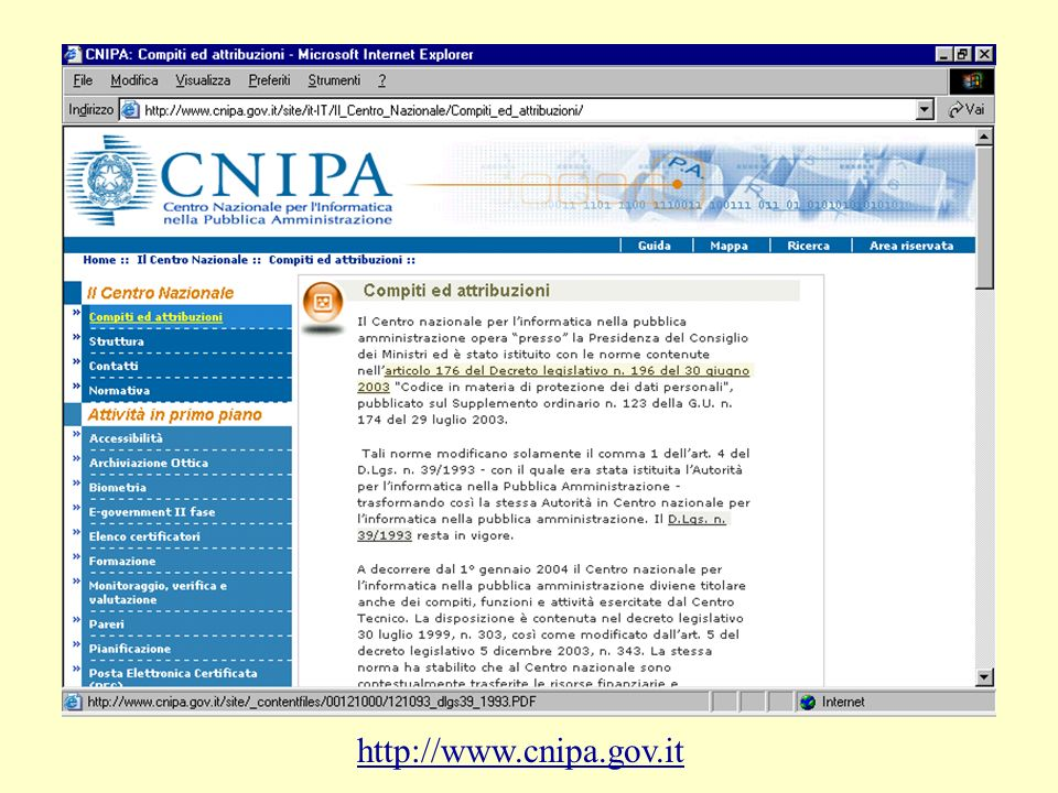 Posta elettronica certificata DPR.11 febbraio 2005, n.