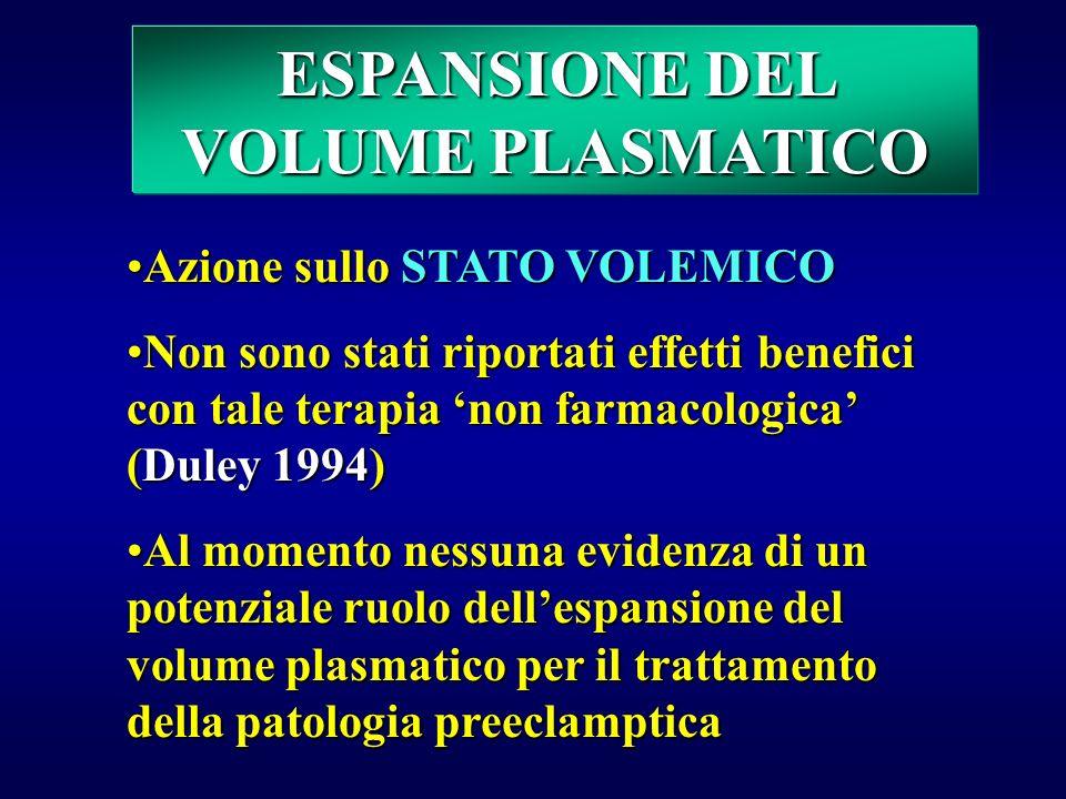 AGENTI IPEROSMOTICI ALBUMINA Aumenta la pressione colloidosmotica con conseguente richiamo di liquidi dalla sede extravascolare alla sede intravascola