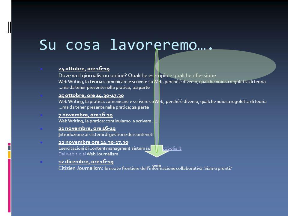 Venerdì 5 dicembre 2008 Unintervista…. …all Ansa http://www.youtube.com/watch?v=8OGDWNzga3k