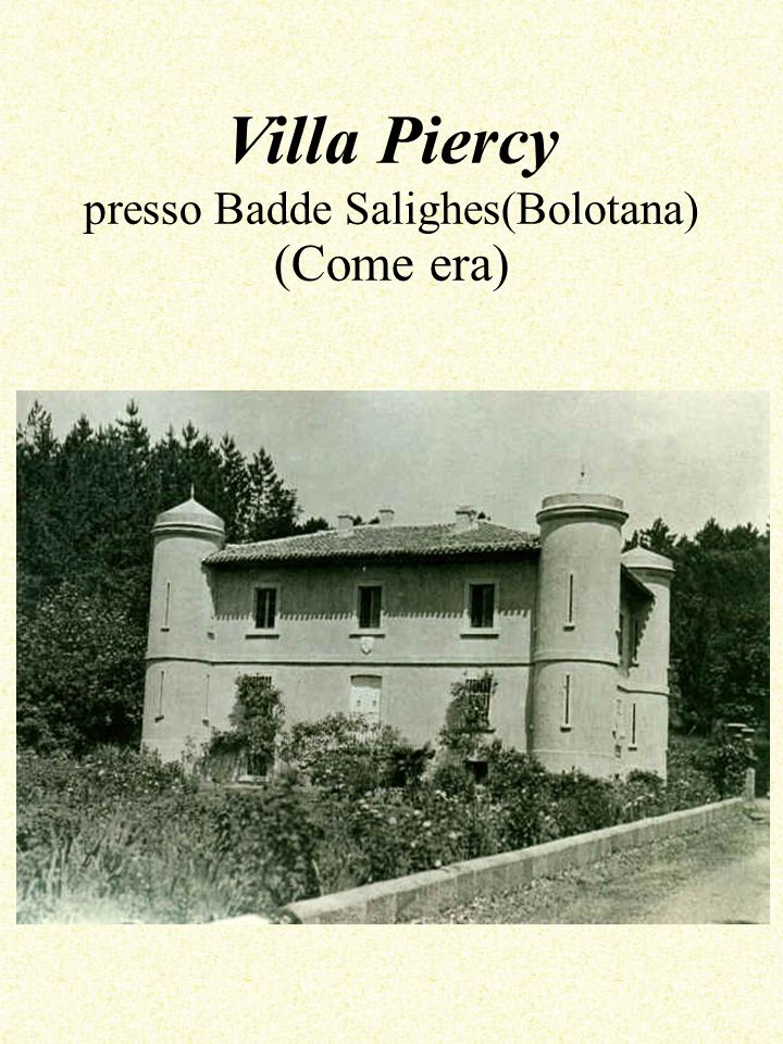 Villa Piercy presso Badde Salighes(Bolotana) (Come era)