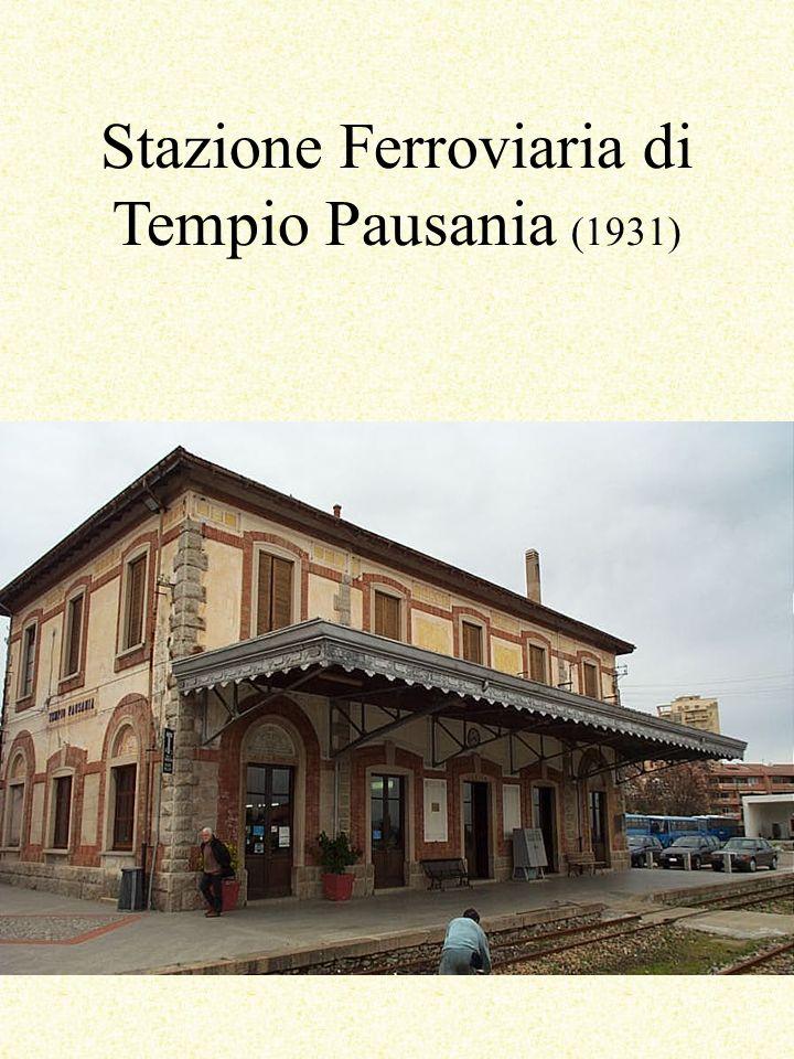 Stazione Ferroviaria di Tempio Pausania (1931)