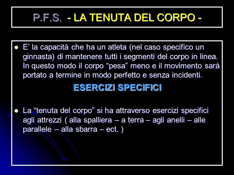 P.F.G. - LA FORZA - Esistono, principalmente, 3 tipi di forze: Esistono, principalmente, 3 tipi di forze: FORZA MASSIMALE (è la forza massima che poss