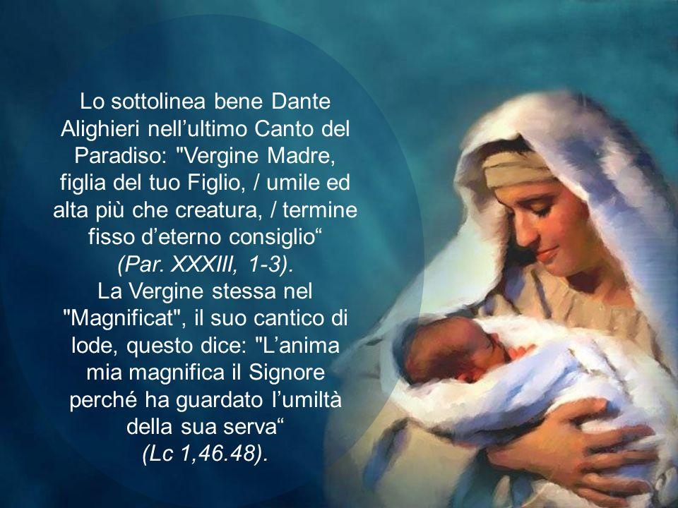 Possiamo domandarci: perché, tra tutte le donne, Dio ha scelto proprio Maria di Nazaret? La risposta è nascosta nel mistero insondabile della divina v