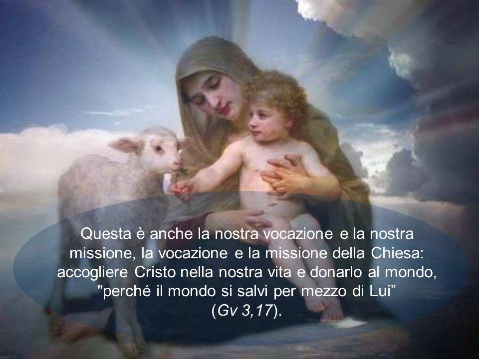 Sì, Dio è stato attratto dallumiltà di Maria, che ha trovato grazia ai suoi occhi. E diventata così la Madre di Dio, immagine e modello della Chiesa,