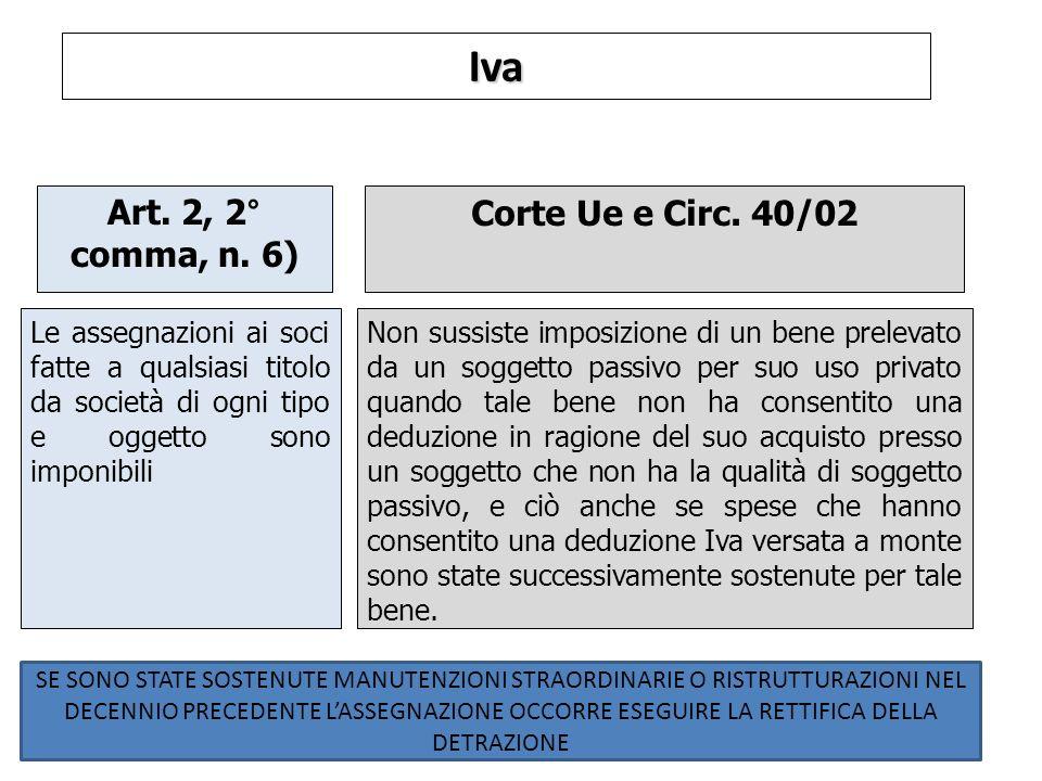 Iva Art.2, 2° comma, n.