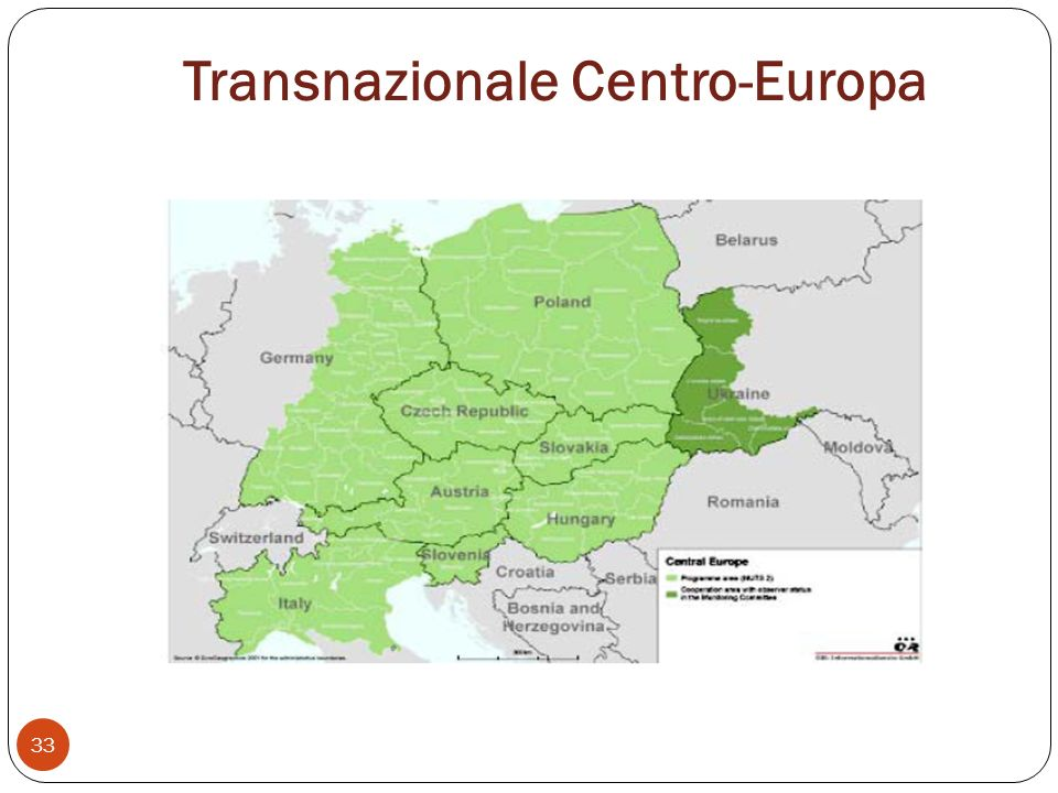 Transnazionale Centro-Europa 33