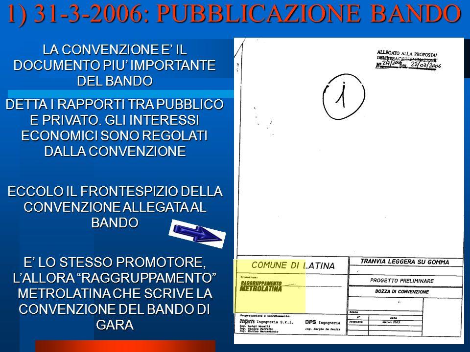 LA CONVENZIONE E IL DOCUMENTO PIU IMPORTANTE DEL BANDO DETTA I RAPPORTI TRA PUBBLICO E PRIVATO.