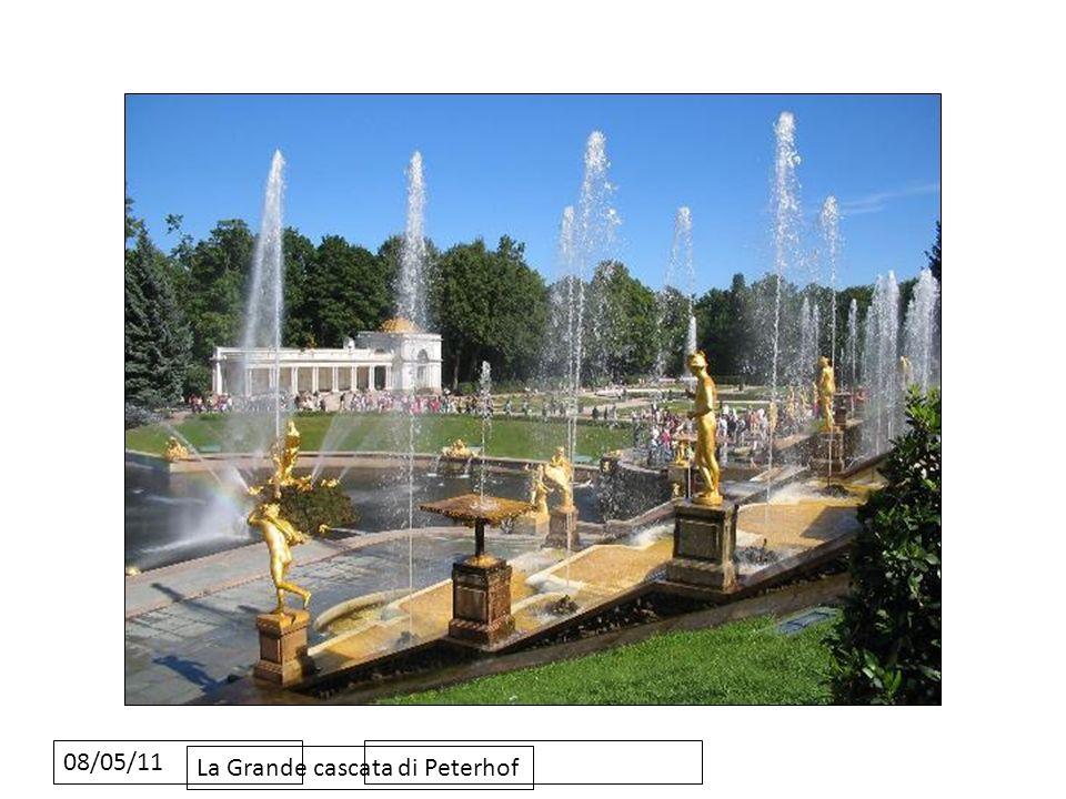 08/05/11 La Grande cascata di Peterhof