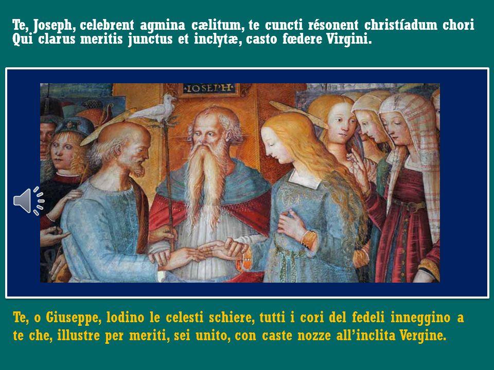 Chiedo lintercessione della Vergine Maria, di san Giuseppe, dei santi Pietro e Paolo, di san Francesco, affinché lo Spirito Santo accompagni il mio mi