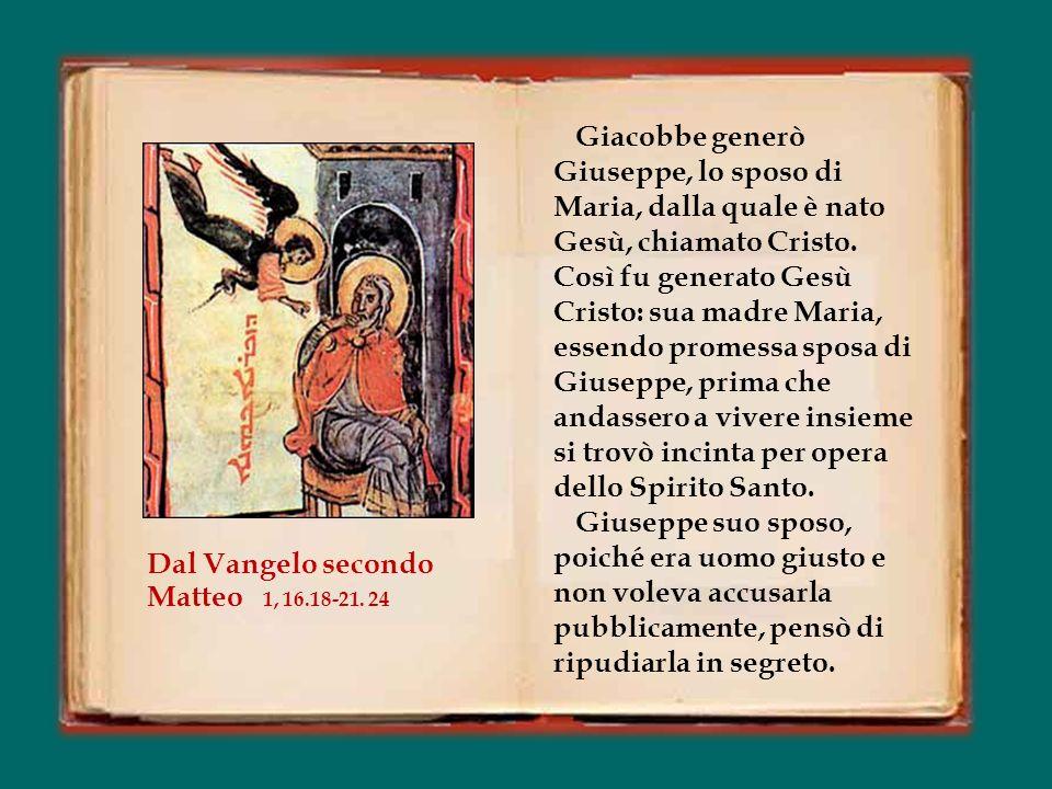 Tu natum Dominum stringis, ad exteras, Aegypti profugum tu séqueris plagas; amissum Solymis quæris, et invenis, miscens gaudia fletibus. Il nato Signo
