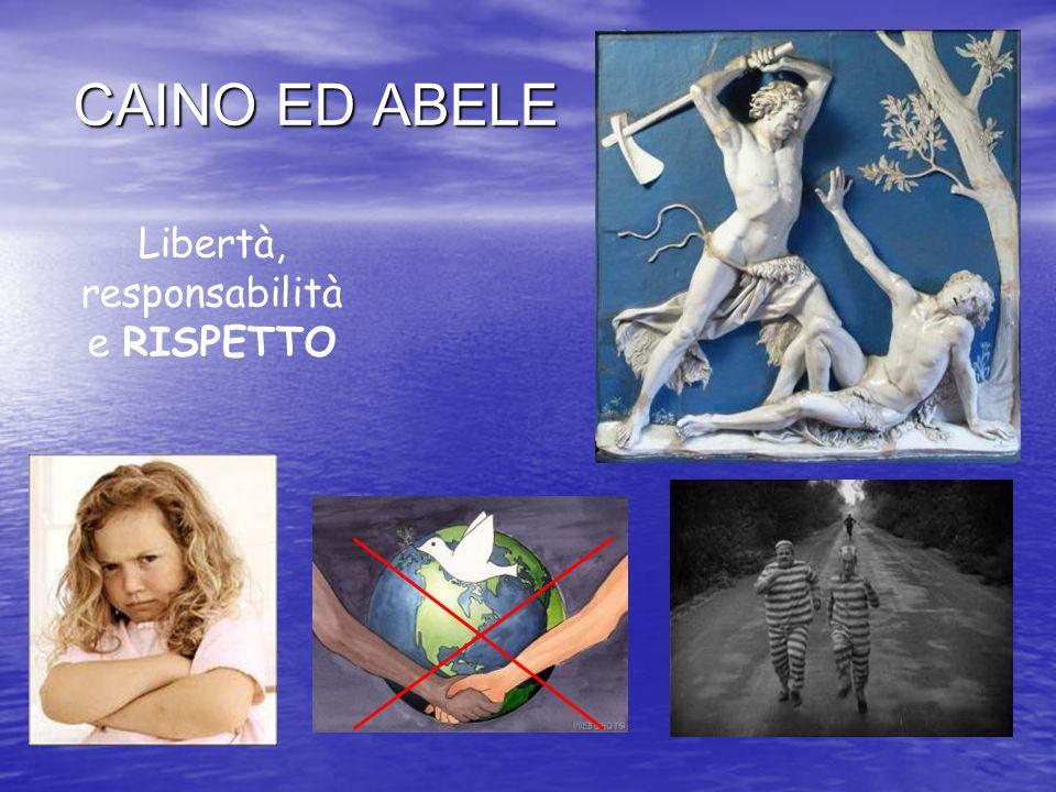 CAINO ED ABELE Libertà, responsabilità e RISPETTO