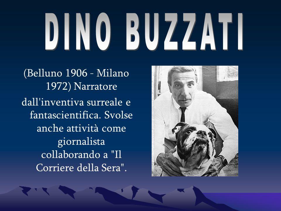 Articolo di Dino Buzzati comparso sul Corriere della Sera , l 11 ottobre 1963 Stavolta per il giornalista che commenta non c è compito da risolvere se si può, con il mestiere e con la fantasia e col cuore.