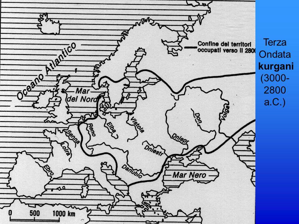 Dispersione dellagricoltura in Europa in base ai più antichi siti di insedamenti agricoli datati al radiocarbonio C.