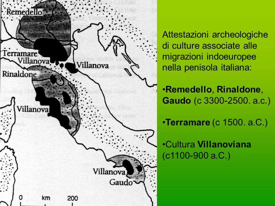 Carta linguistica dellItalia preromana (da G.