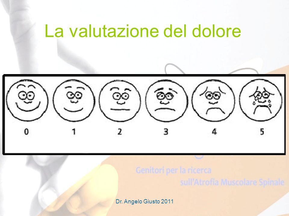 Dr. Angelo Giusto 2011 La valutazione del dolore