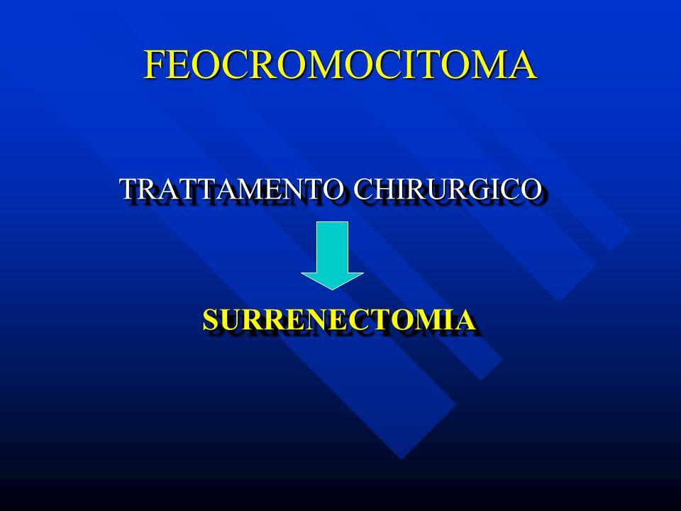 FEOCROMOCITOMA TRATTAMENTO CHIRURGICO TRATTAMENTO CHIRURGICO SURRENECTOMIA SURRENECTOMIA TRATTAMENTO CHIRURGICO TRATTAMENTO CHIRURGICO SURRENECTOMIA S
