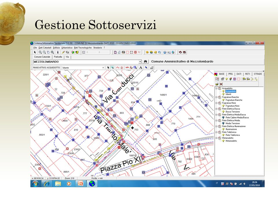 PATCatastoPRG Software Geopartner Software Geopartner Software Terze Parti Software Terze Parti Georeporting