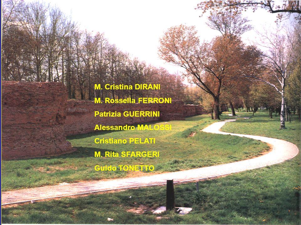M. Cristina DIRANI M. Rossella FERRONI Patrizia GUERRINI Alessandro MALOSSI Cristiano PELATI M. Rita SFARGERI Guido TONETTO