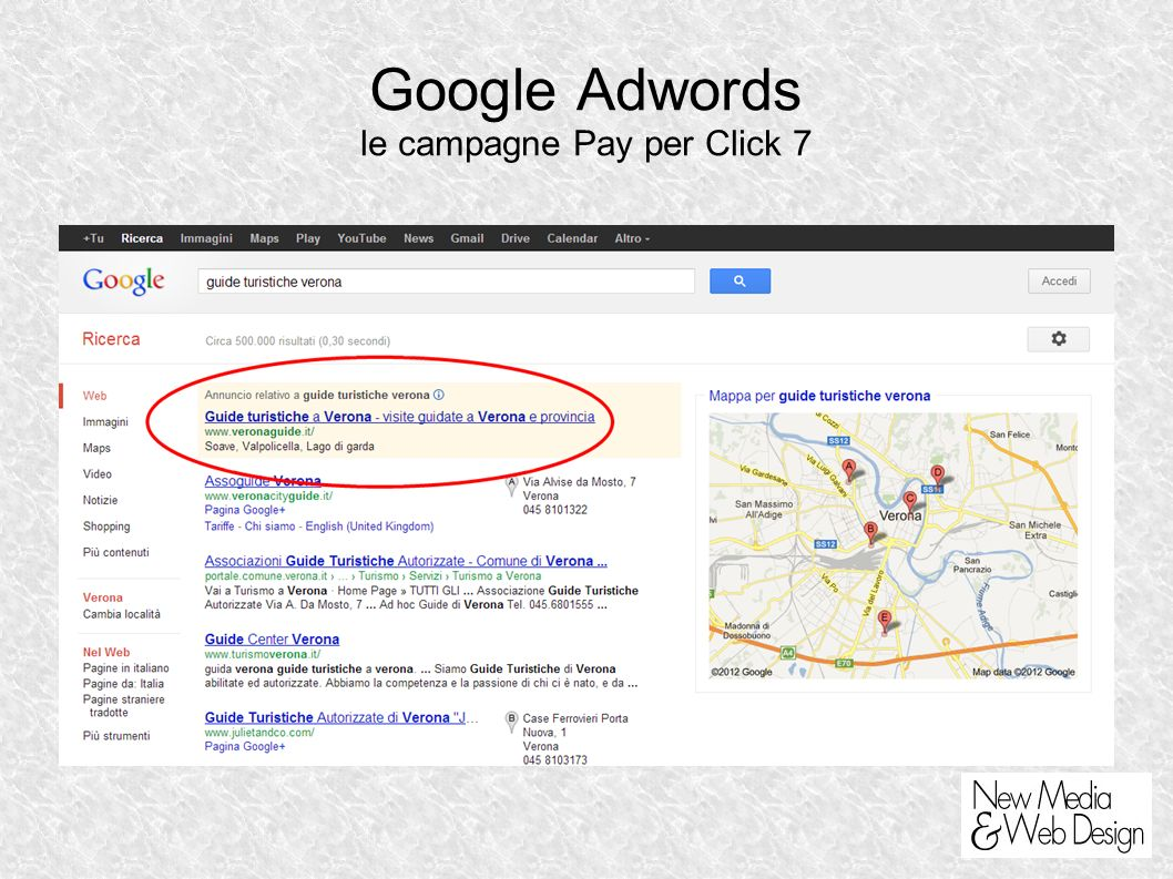 Google Adwords le campagne Pay per Click 7