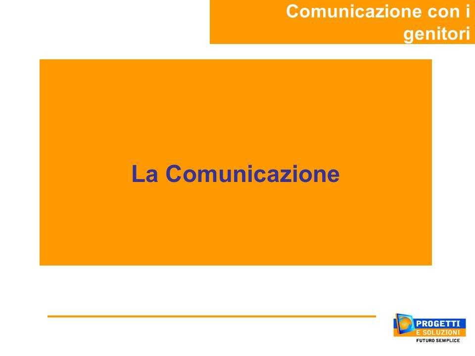 La Comunicazione Comunicazione con i genitori