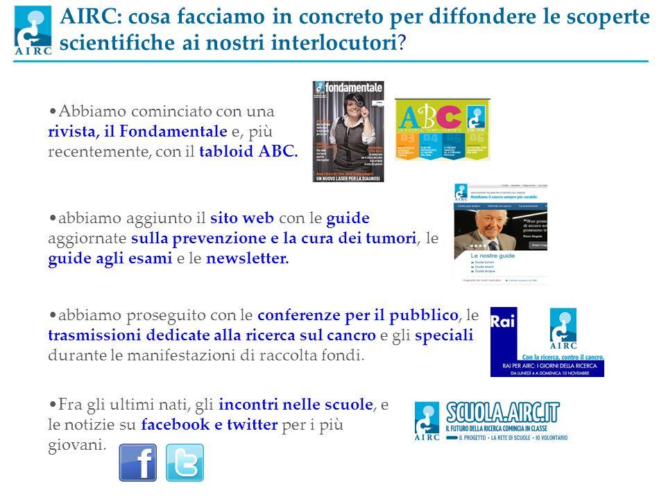 Abbiamo cominciato con una rivista, il Fondamentale e, più recentemente, con il tabloid ABC. abbiamo aggiunto il sito web con le guide aggiornate sull