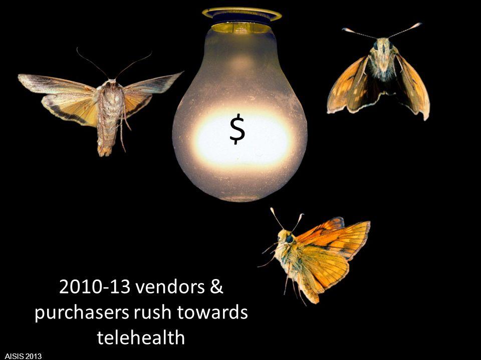 Aisis - 2013 Associazione Italiana Sistemi Informativi in Sanità Valutazione del Valore derivante dallutilizzo di ICT in Sanità $ 2010-13 vendors & pu