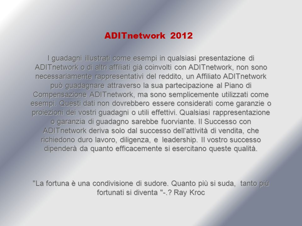 ADITnetwork ADITnetwork is a Global Online Advertising Platform, Which Provides REAL Services, That Todays Businesses Desperately Need.