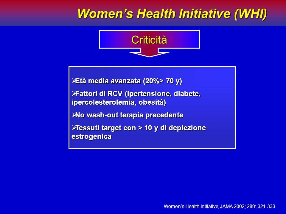 Età media avanzata (20%> 70 y) Età media avanzata (20%> 70 y) Fattori di RCV (ipertensione, diabete, ipercolesterolemia, obesità) Fattori di RCV (iper