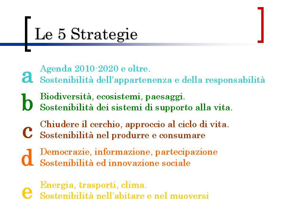 Le 5 Strategie