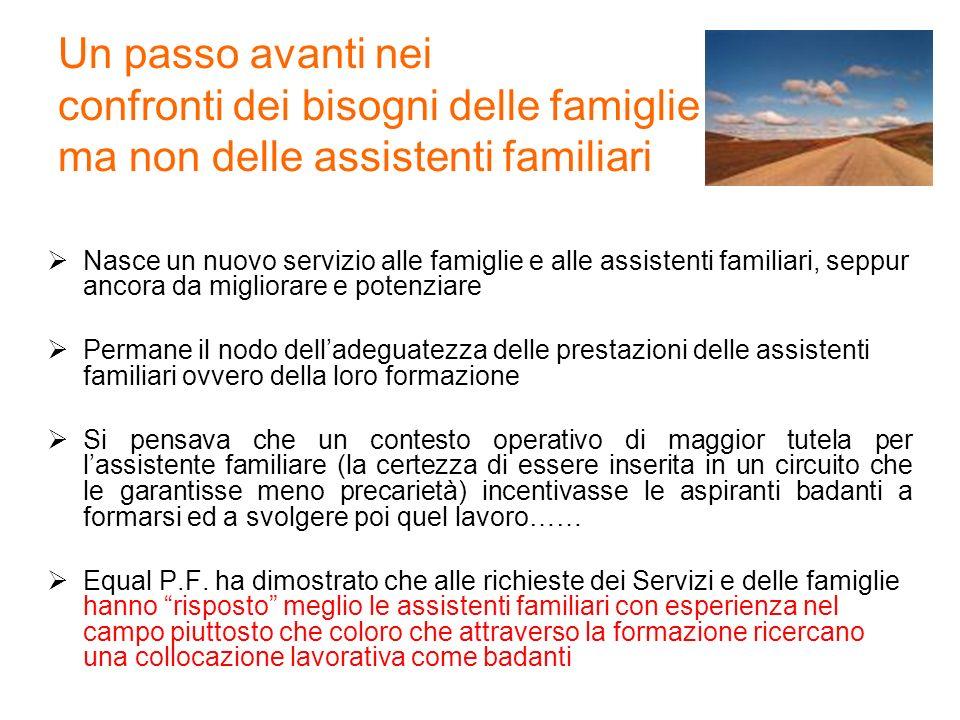 Un passo avanti nei confronti dei bisogni delle famiglie ma non delle assistenti familiari Nasce un nuovo servizio alle famiglie e alle assistenti fam