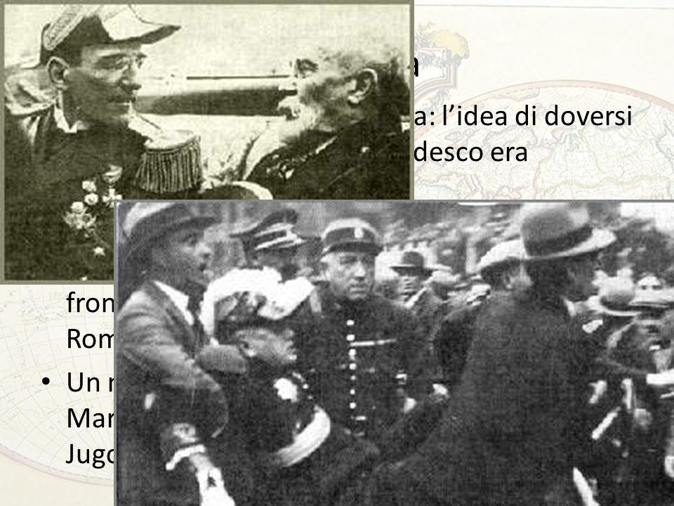 La Francia Freddezza da parte britannica: lidea di doversi proteggere da un pericolo tedesco era giudicata insensata Dopo gli eventi austriaci, convinzione di Barthou che lItalia possa essere recuperata al fronte antitedesco.