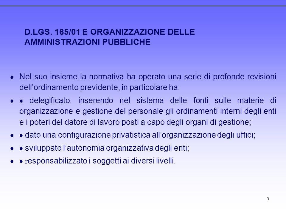 3 Nel suo insieme la normativa ha operato una serie di profonde revisioni dellordinamento previdente, in particolare ha: delegificato, inserendo nel s