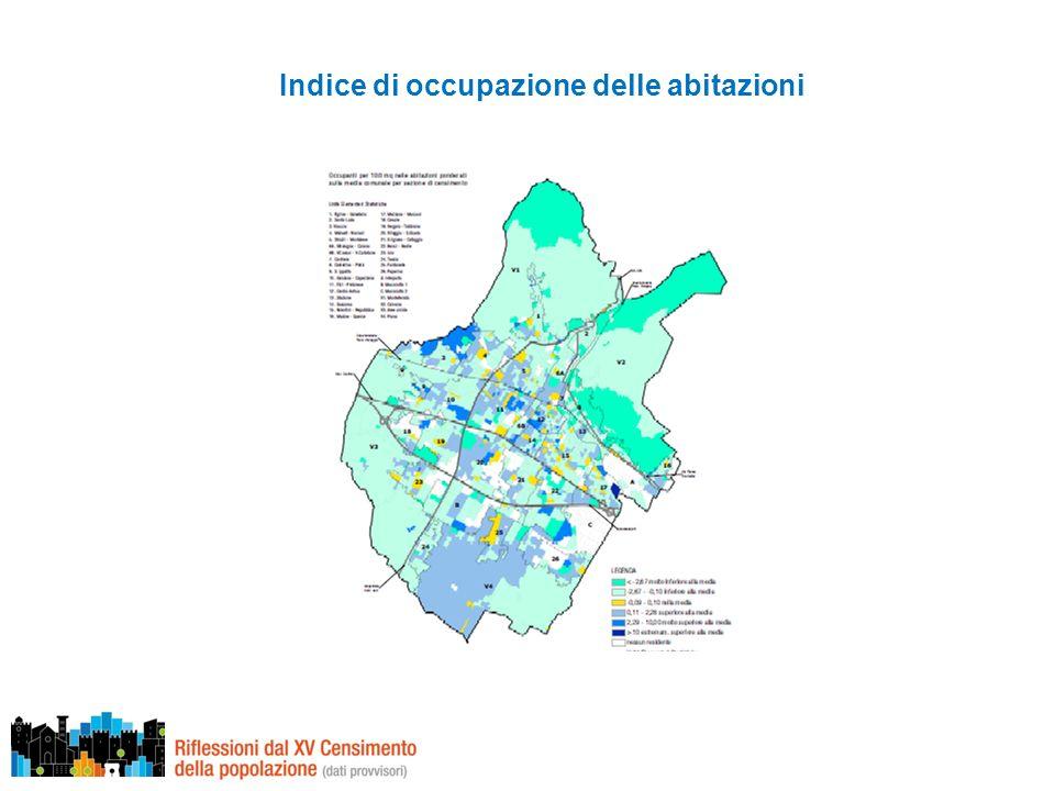 Indice di occupazione delle abitazioni