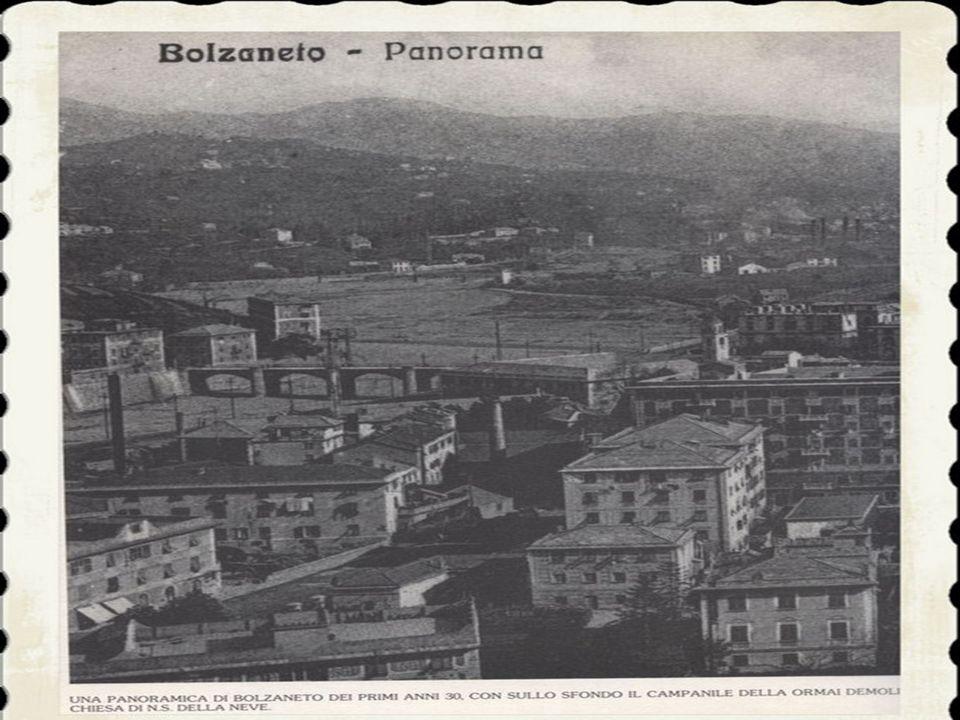 6)A Bolzaneto venne fondata, nel 1908, la «P.A. Croce Bianca» che andava ad affiancarsi alle altre associazioni esistenti: la «Fratellanza» e la « S.O