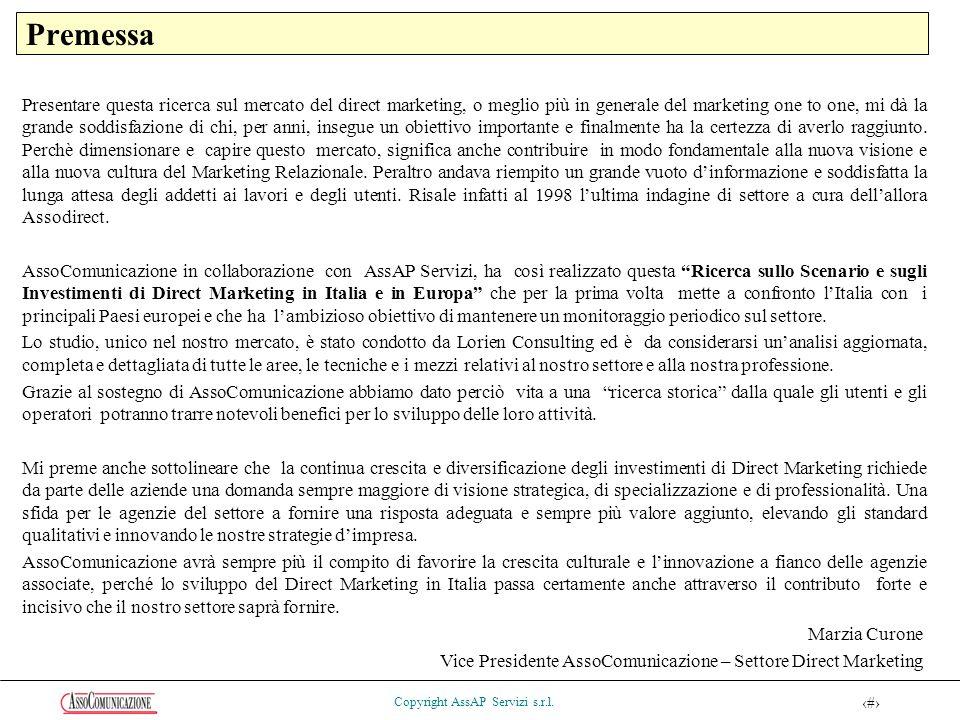 4 Copyright AssAP Servizi s.r.l.