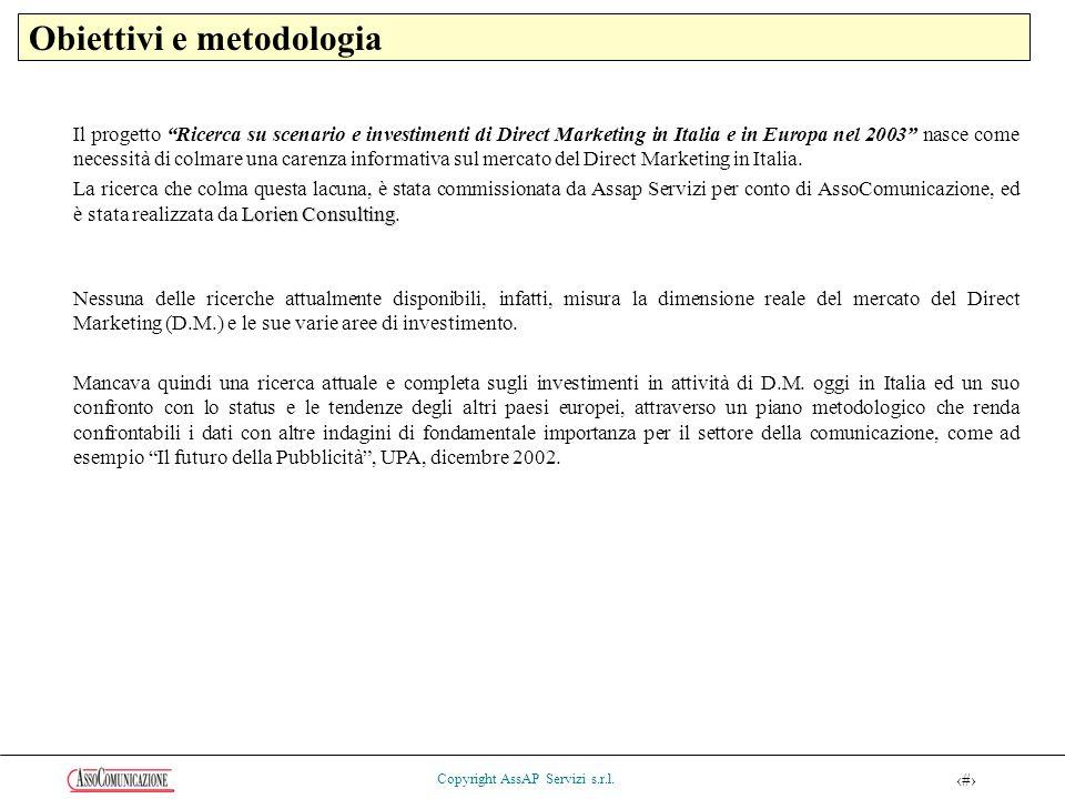 25 Copyright AssAP Servizi s.r.l.