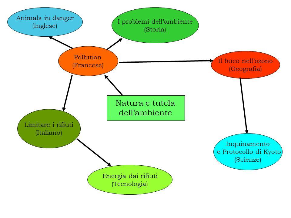 Natura e tutela dellambiente Pollution (Francese) Energia dai rifiuti (Tecnologia) I problemi dellambiente (Storia) Inquinamento e Protocollo di Kyoto
