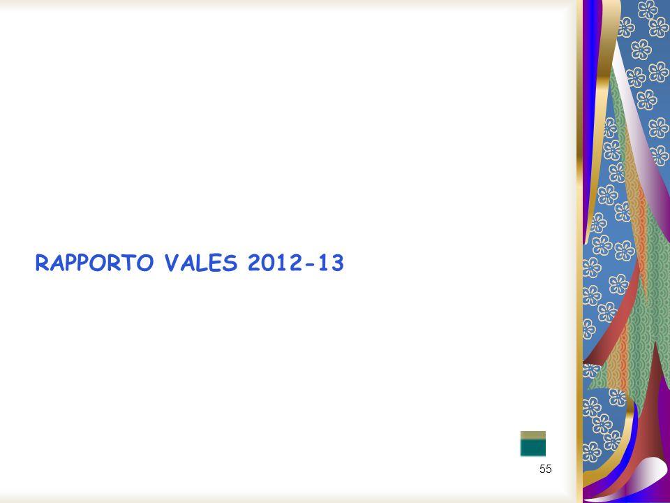 55 RAPPORTO VALES 2012-13