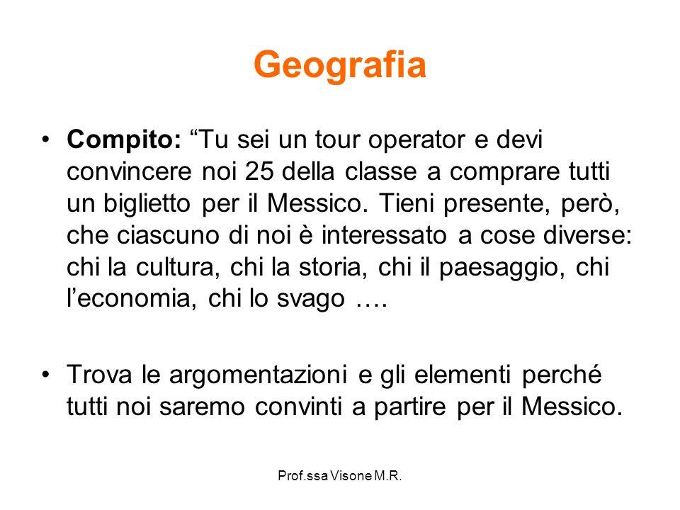 Prof.ssa Visone M.R.