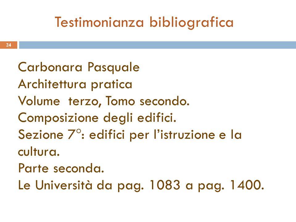 Carbonara Pasquale Architettura pratica Volume terzo, Tomo secondo.