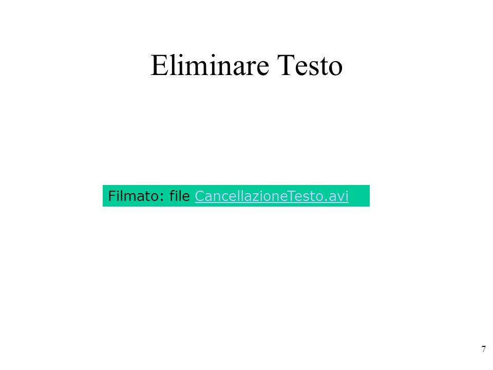 68 Interruzioni di Pagina Word inizia automaticamente una nuova pagina quando il testo supera lo spazio a disposizione della pagina corrente in base alla formattazione della stessa (margini, rientri, etc…).