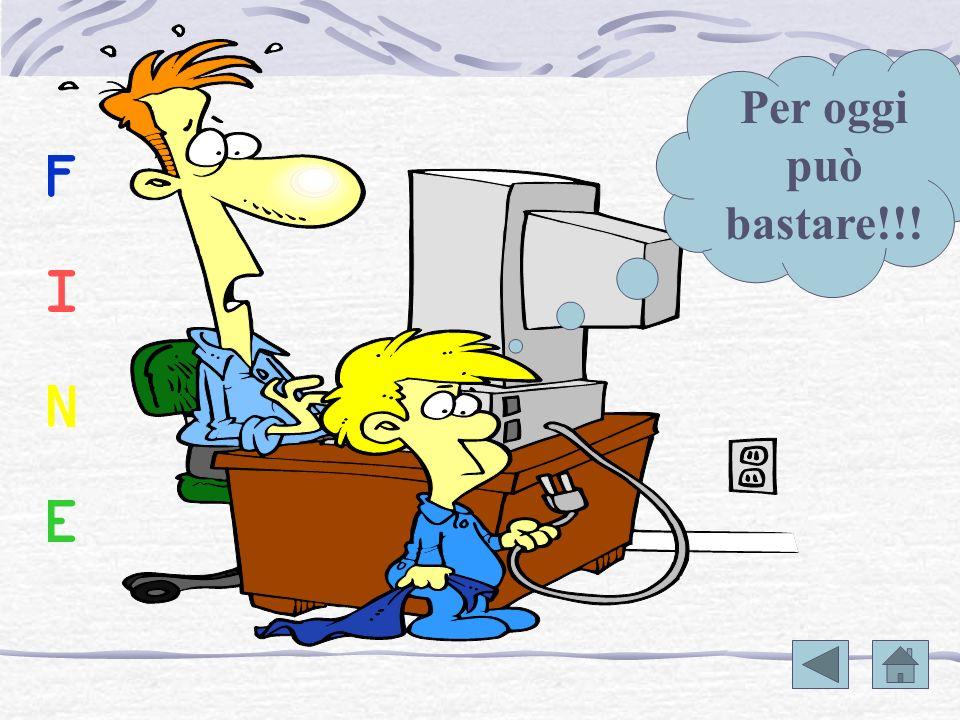 [PAG up] e [PAG down] spostano il cursore in giù o in su di una videata. tasti freccia: spostano il cursore in alto, in basso, a destra e a sinistra.