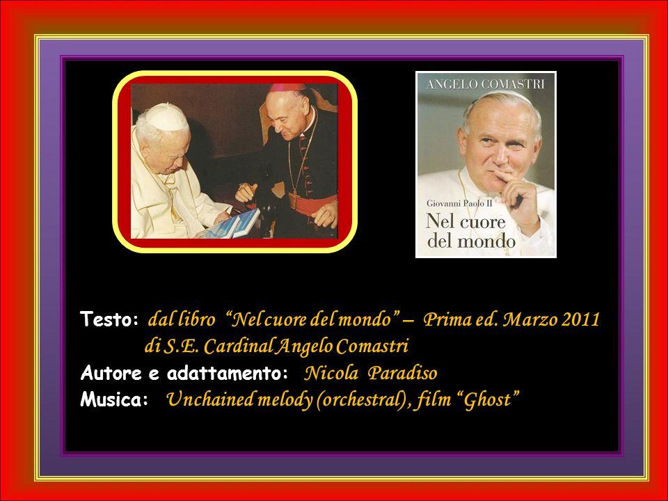 Nellora della morte, conformato al suo Maestro e Signore, Giovanni Paolo II ha coronato il suo lungo e fecondo pontificato, confermando nella fede il popolo cristiano, radunandolo intorno a sé e facendo sentire più unita lintera famiglia umana.