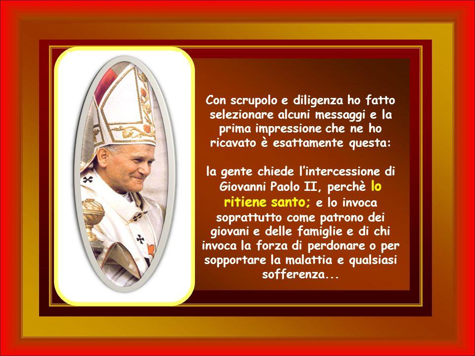 Pag. 73: I messaggi sulla tomba del Papa.